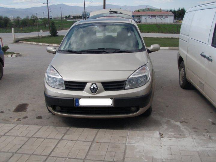 ΦΩΤΟΓΡΑΦΙΕΣ ΑΠΟ : Υγραεριοκίνηση Αυτοκινήτων 'Αφοί Γιώβη' - Renault Scenic 1.6
